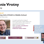 Teaching Girls STEAM in Middle School