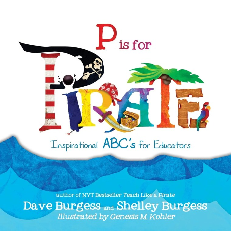 Book review for P is for Pirate