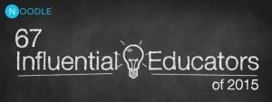67 Influential Educators
