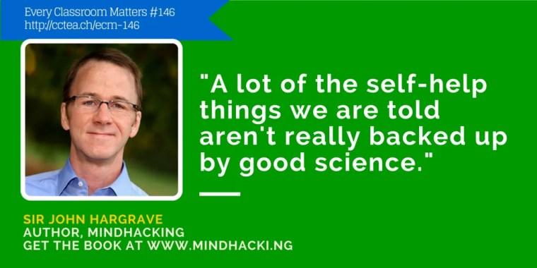 Sir John Hargrave teaches mind hacking