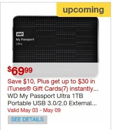 Western Digital Backup
