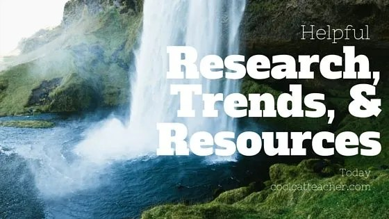 Helpful Research Trends and Resources today