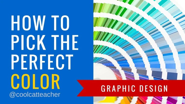 How to pick the perfect color