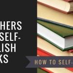 How Teachers Can Self Publish Books