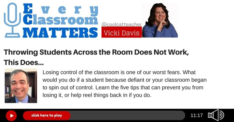 throwing students across the room does not work this does