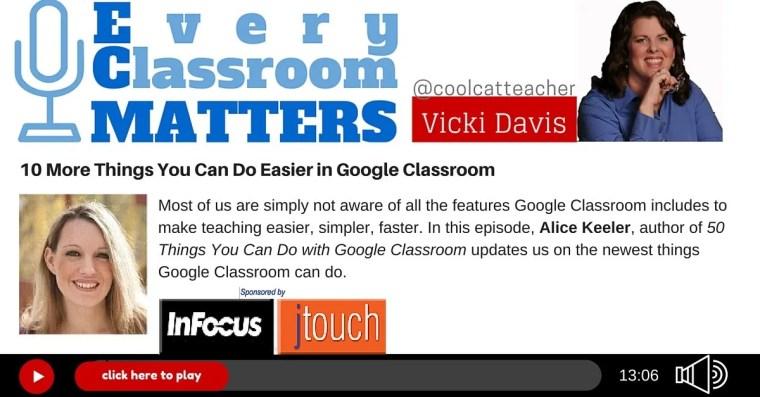 google classroom Alice Keeler