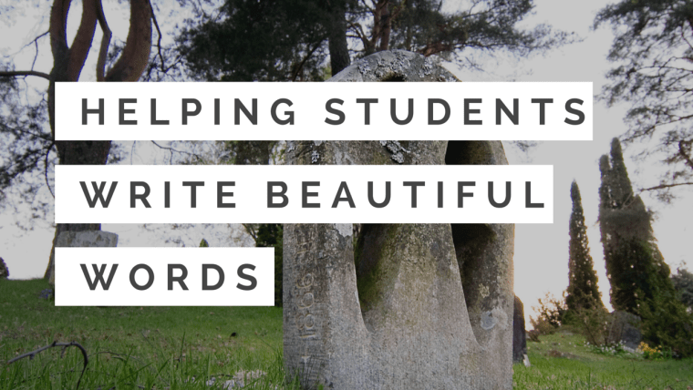 helping students write beautiful words