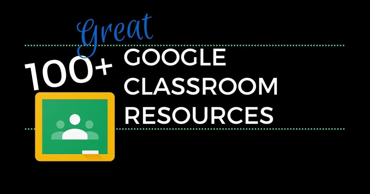 100 great google classroom resources for educators fandeluxe Image collections
