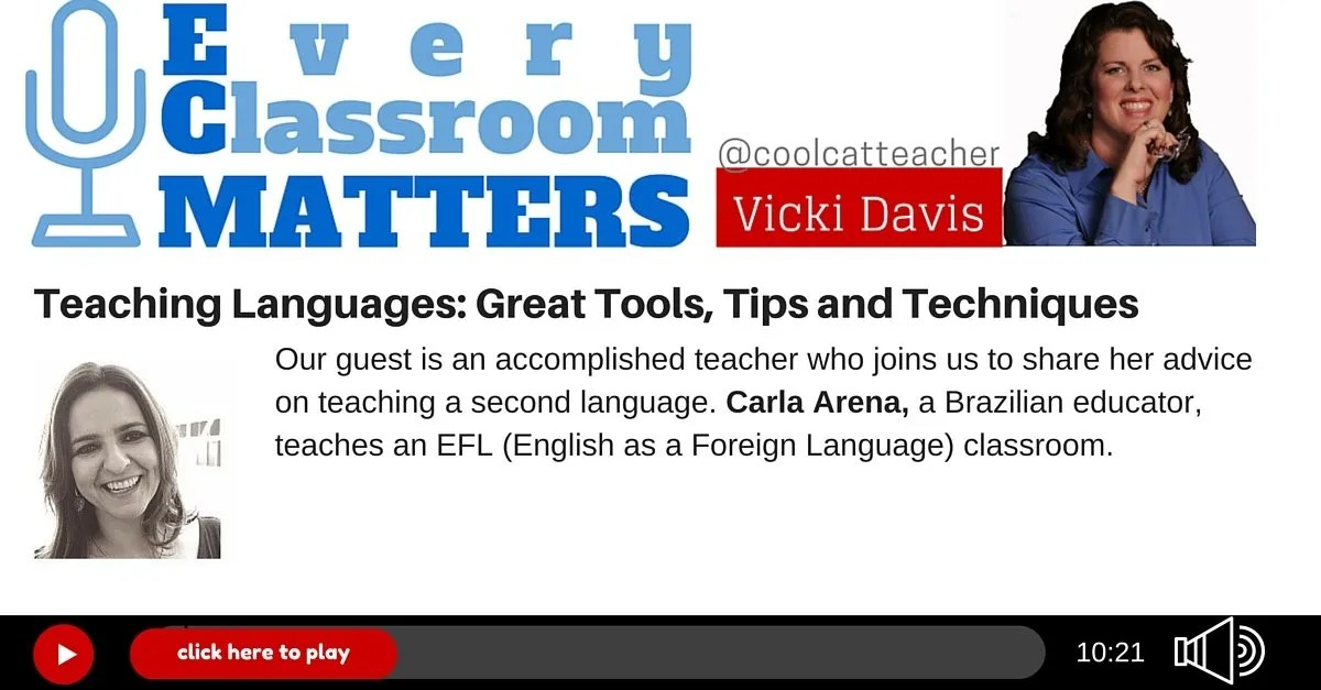 Teaching Languages: Great Tools, Tips and Techniques