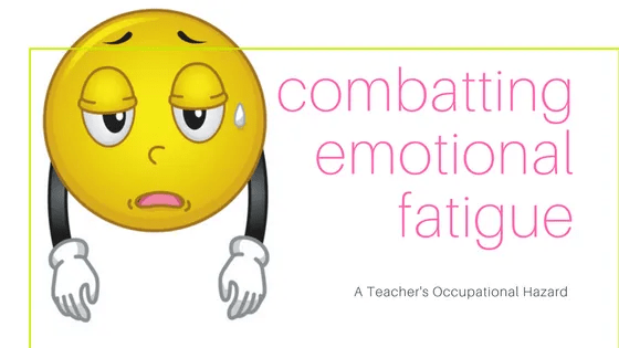 combatting emotional fatigue blog post