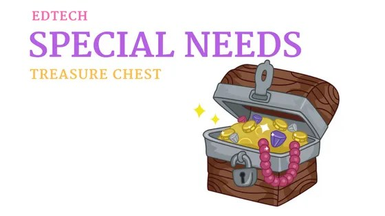 edtech special needs treasure chest with Jennifer Cronk