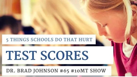 standardized test scores