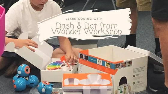 Dash and Dot from Wonder Workshop