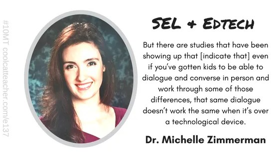 Dr. Michelle Zimmerman sel and edtech