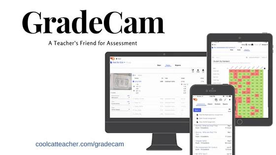 GradeCam teacher assessment