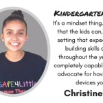 This teacher has her kindergarteners building web pages on Chromebooks #Gafe4littles