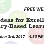 Free Webinar: 10 Ideas for Excellent Inquiry-Based Learning