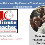 Books to Africa and A Personal Transformation to a Global Educator