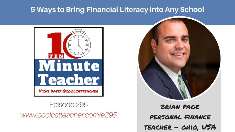 brian page personal finance financial literacy