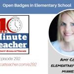 Open Badges in Elementary School