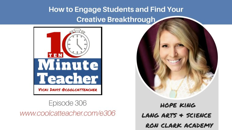hope king how to engage your students and find your creative breakthrough (1)