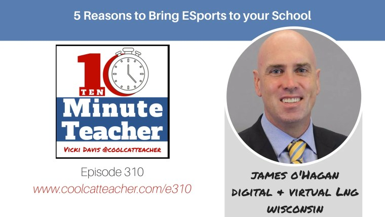 james o'hagan esports digital and virtual learning esports