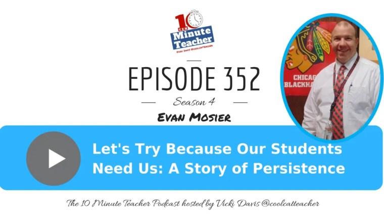 Evan Mosier persistence in edtech