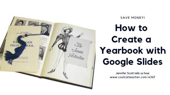make a yearbook google slides