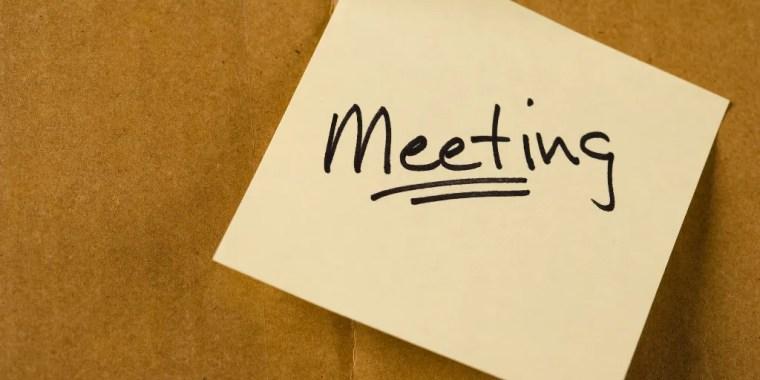 how to run a better meeting