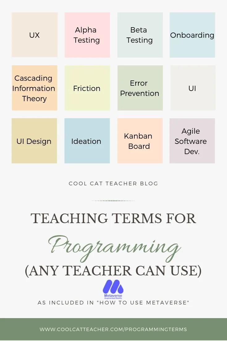 Metaverse- teaching terms - pinterest - FINAL