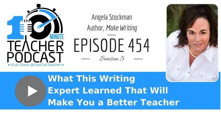 Angela Stockman writing