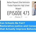 Restorative Justice and Consequences that Actually Improve Behavior