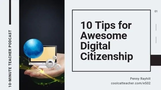 10 tips digital citizenship