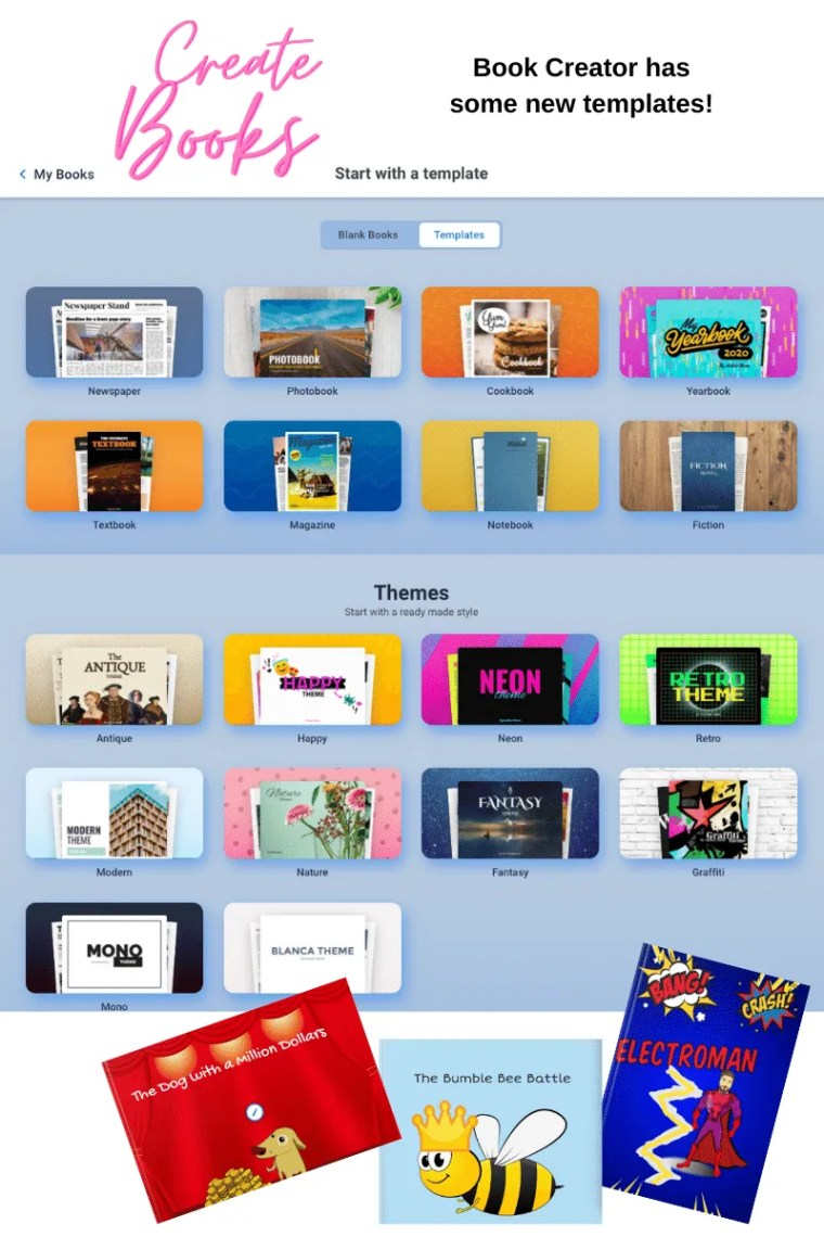 Book Creator Templates