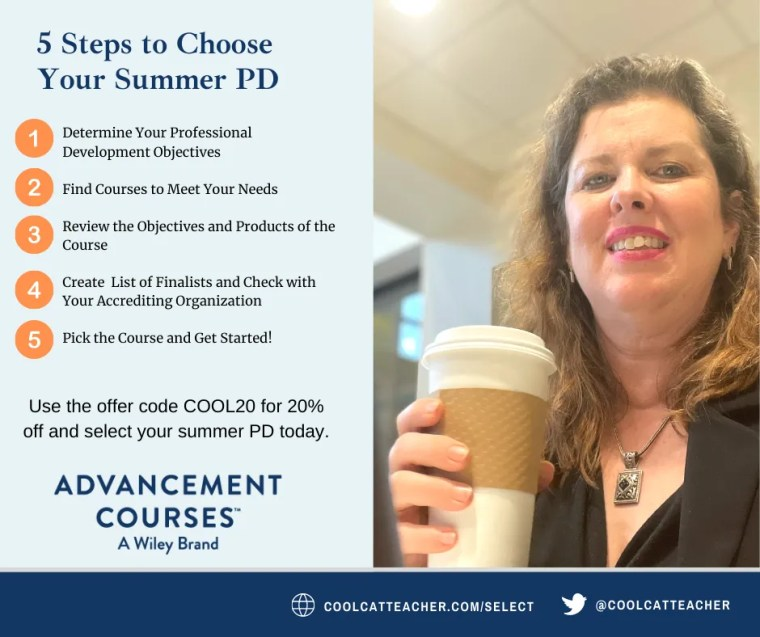 5 steps to choose your summer professional development