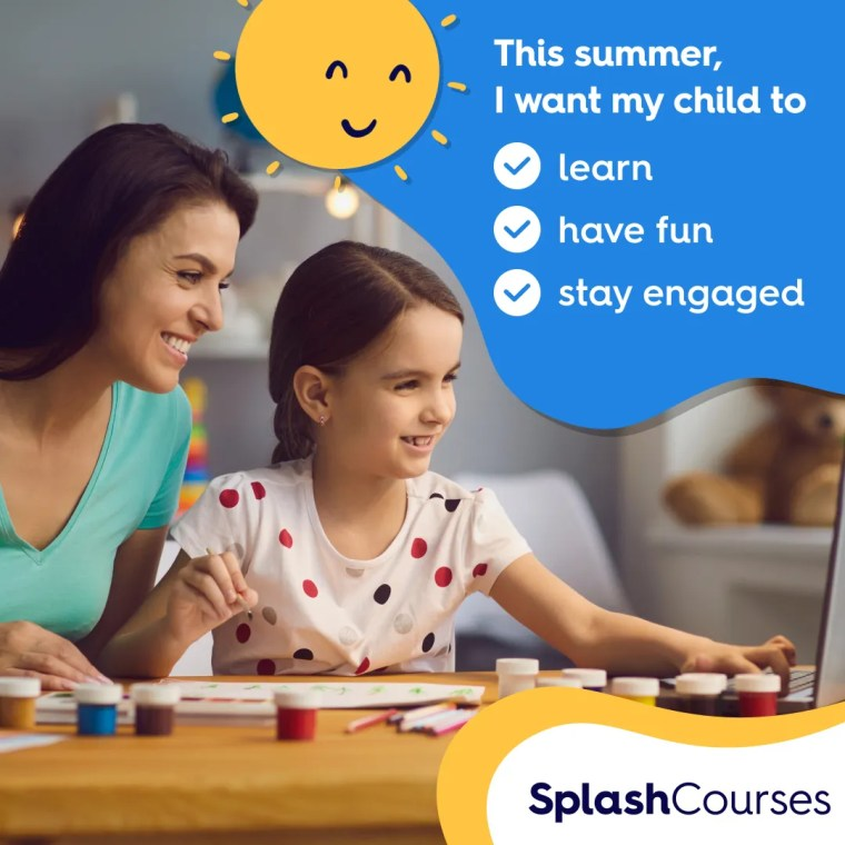 SplashLearn to help children learn this summer and prepare.