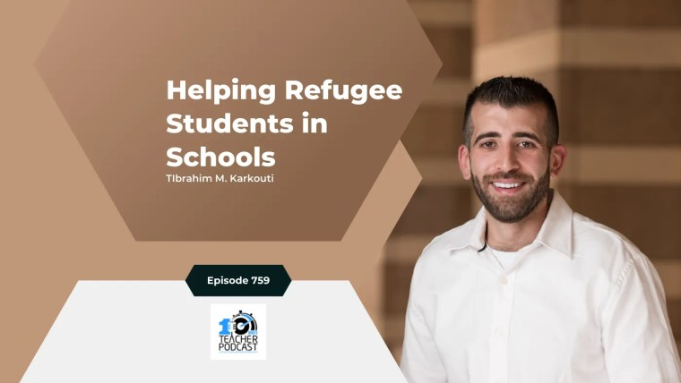 helping refugee students in school