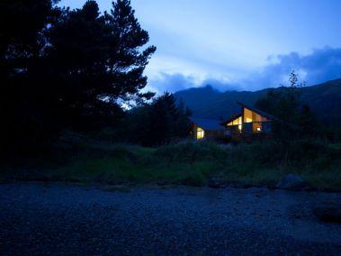 Ardgartan forest cabins