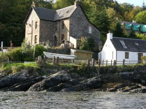 stationmasters lodge lochside holiday house