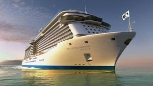 Debuting in April 2017, Majestic Princess sets sail on maiden European sailings in the Mediterranean. (PRNewsFoto/Princess Cruises)