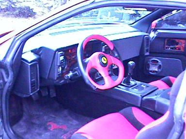 Fiero Interior Upgrades