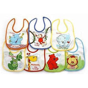 Universaltextilien – Babylätzchen – Tier-Design -