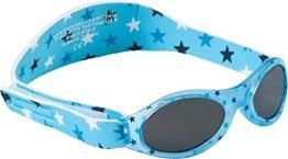 "Dooky – Baby-Sonnenbrille ""Silver Star"" – blau"