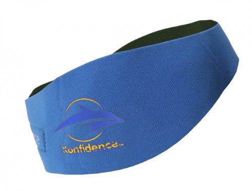 Ideen – Baby Jungen Badebekleidung Ohrenband/Stirnband aus Neopren – blau