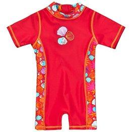 Landora – Baby Badebekleidung Einteiler UV-Schutz 50+ – rot