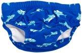 "Playshoes – Baby Jungen Badebekleidung Windelhose ""Hai"" – blau"
