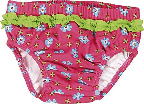 """Playshoes – Baby Mädchen Badebekleidung Schwimmwindel """"Blumen"""" – mehrfarbig"""