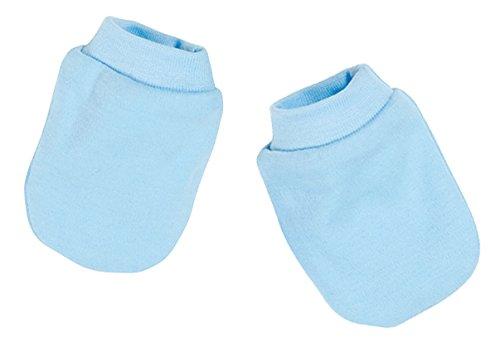 Schnizler – Baby Fäustlinge Kratzfäustlinge – blau