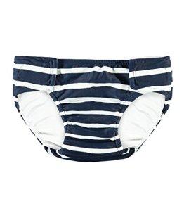 Steiff – Baby Jungen Badebekleidung Schwimmwindel – blau