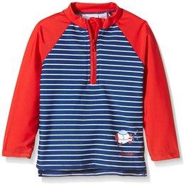 Sterntaler – Baby Jungen Badebekleidung Langarm Schwimmshirt – blau
